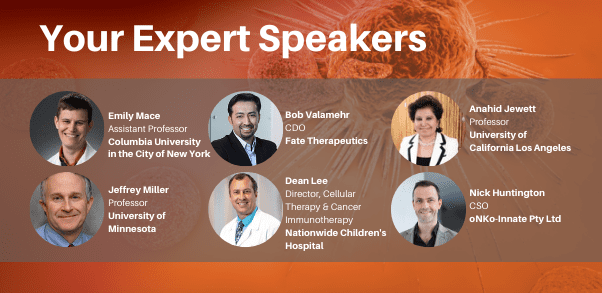 Innate Killer Conference - Expert Speakers